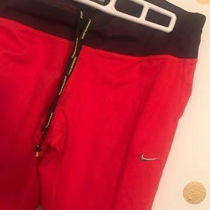 Nike Running Tights Cropped Capri Dri Fit